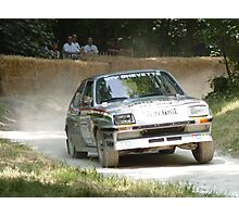 Vauxhall Chevette Rally Car Photographic Print