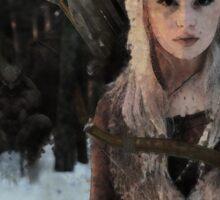 Alfar - Elf Archer Fantasy Digital Art Sticker