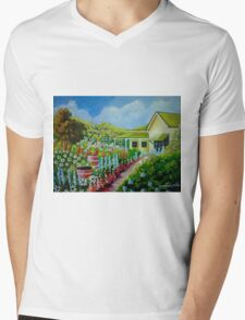 The Country Garden Mens V-Neck T-Shirt
