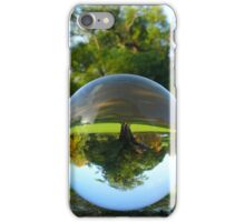 Old Park Tree, crystal ball / Glass Ball Photography iPhone Case/Skin