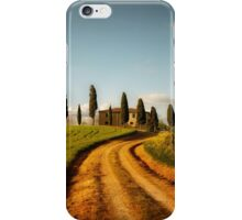 Postcard from Toskany iPhone Case/Skin