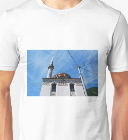 Mosque in Travnik Unisex T-Shirt