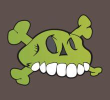 Comical Skull by Stevie B