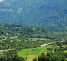 Soca Valley Near Kobarid Sticker