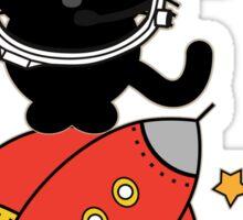 Space Cat - Houston we have a problem Sticker