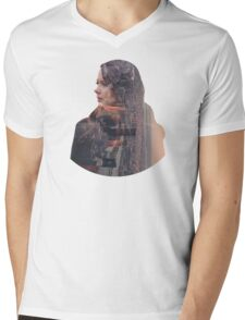 Person of Interest - Root - City Mens V-Neck T-Shirt