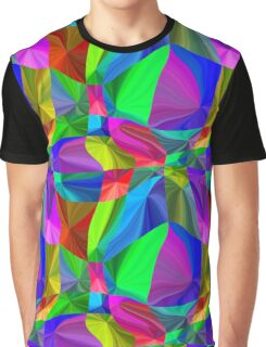 Rainbow neon seamless pattern Graphic T-Shirt