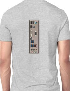 I/O Motherboard Shield Unisex T-Shirt