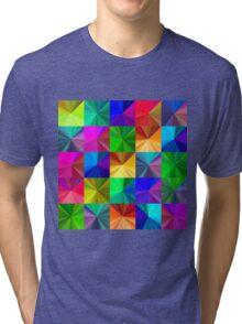 Crystal seamless pattern Tri-blend T-Shirt