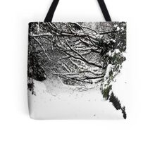 SNOW SCENE 5 Tote Bag