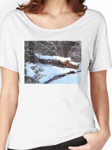 SNOW SCENE 9 Women's Relaxed Fit T-Shirt