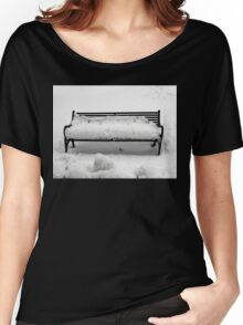 SNOW SCENE 8 Women's Relaxed Fit T-Shirt