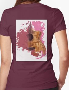 Acoustic guitar, Taylor guitar Womens Fitted T-Shirt