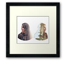 Person of Interest - Shaw & Root Framed Print