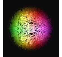 Colours of Om Photographic Print
