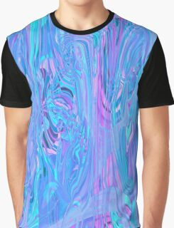 Mystic cold rays playing. Marble design Graphic T-Shirt