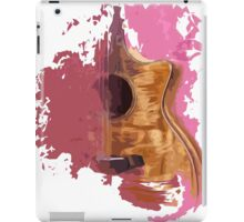 Acoustic guitar, Taylor guitar iPad Case/Skin