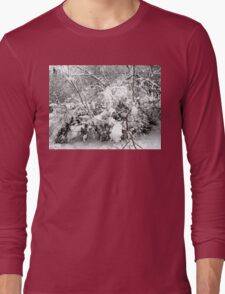 SNOW SCENE 4 Long Sleeve T-Shirt