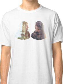 Person of Interest - Shaw & Root -  Face to Face Classic T-Shirt