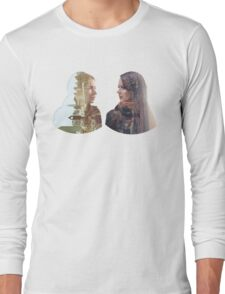 Person of Interest - Shaw & Root -  Face to Face Long Sleeve T-Shirt
