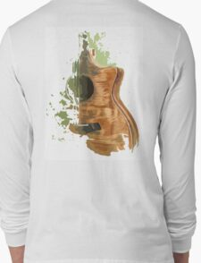 Taylor acoustic guitar Long Sleeve T-Shirt
