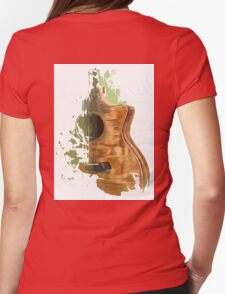 Taylor acoustic guitar Womens Fitted T-Shirt
