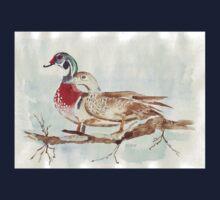 Carolinas (Wood Ducks) One Piece - Short Sleeve