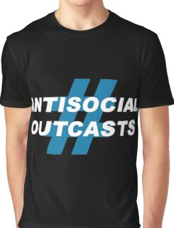 Antisocial Outcasts Graphic T-Shirt