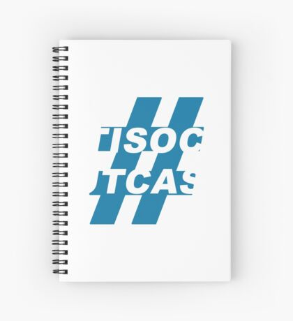 Antisocial Outcasts Spiral Notebook