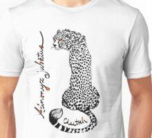 Chirpy Cheetah, Acinonyx jubatus Unisex T-Shirt