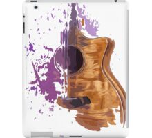 Acoustic guitar iPad Case/Skin
