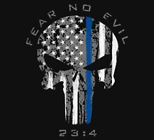 Punisher - Blue Line (Fear No Evil) Unisex T-Shirt