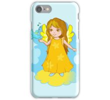 Cute Angel cartoon vector iPhone Case/Skin