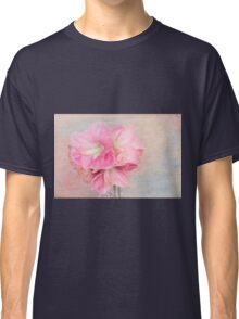 Afternoon Time With Pink Amaryllis  Classic T-Shirt