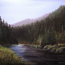 Along The Lochsa II by Rich Summers