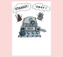 The Inner Workings of the Dalek Mind Kids Tee