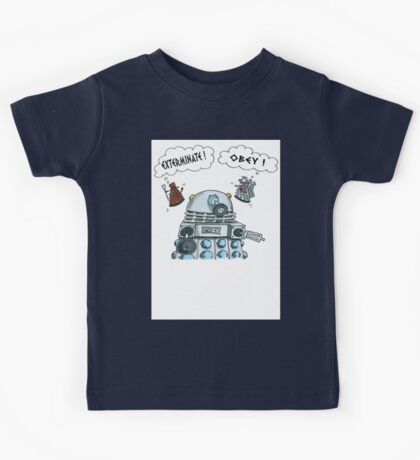 The Inner Workings of the Dalek Mind Kids Clothes