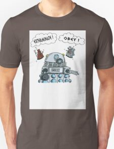 The Inner Workings of the Dalek Mind T-Shirt
