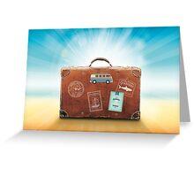 luggage Greeting Card
