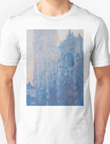 1894-Claude Monet-Rouen Cathedral Façade and Tour d'Albane (Morning Effect)-74 x 106 T-Shirt