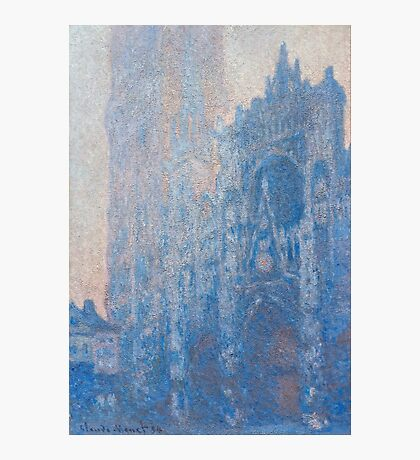 1894-Claude Monet-Rouen Cathedral Façade and Tour d'Albane (Morning Effect)-74 x 106 Photographic Print
