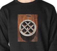 Antique Wooden Wheel Pullover