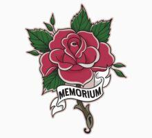 Memorium Tattoo Rose Kids Tee