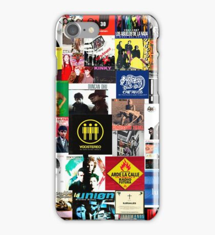 spain and southamerica rock and pop bands iPhone Case/Skin