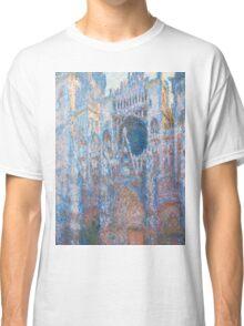 1894-Claude Monet-Rouen Cathedral, West Façade-65 x 100 Classic T-Shirt