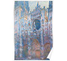 1894-Claude Monet-Rouen Cathedral, West Façade-65 x 100 Poster