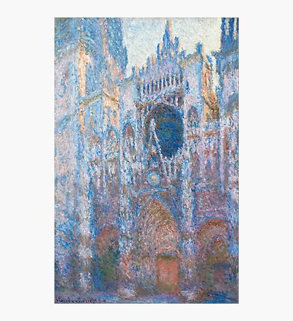 1894-Claude Monet-Rouen Cathedral, West Façade-65 x 100 Photographic Print