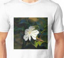 White Camellia Unisex T-Shirt