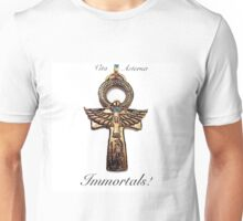 Immortals with black writing Unisex T-Shirt