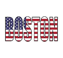 Boston. Photographic Print